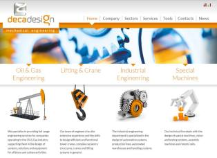 Deca Design Website