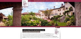 dimore dolomiti website