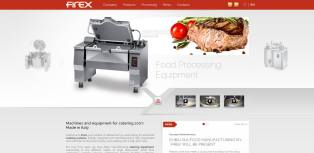 Firex Food equipment Website